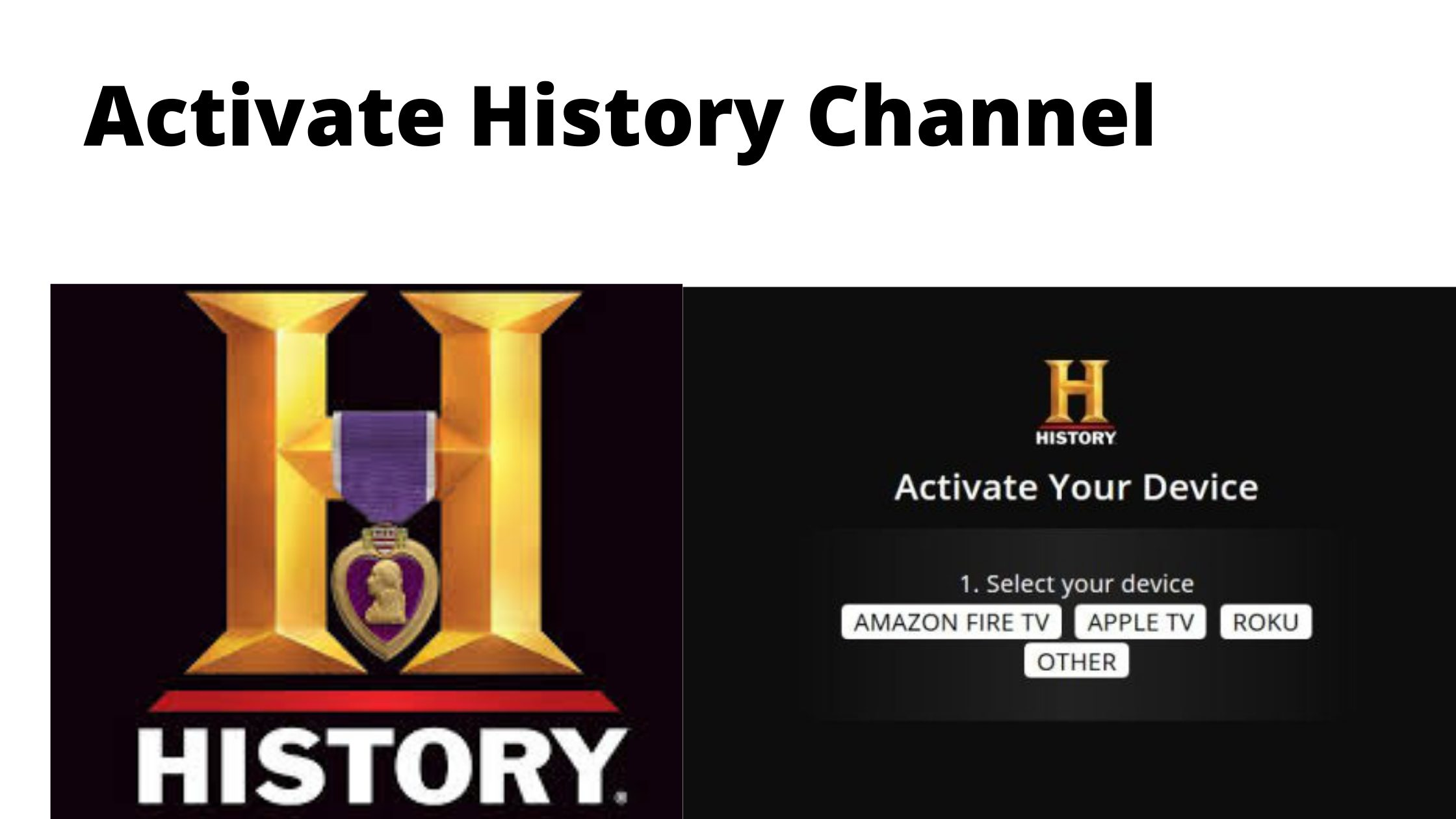 Activate History Channel