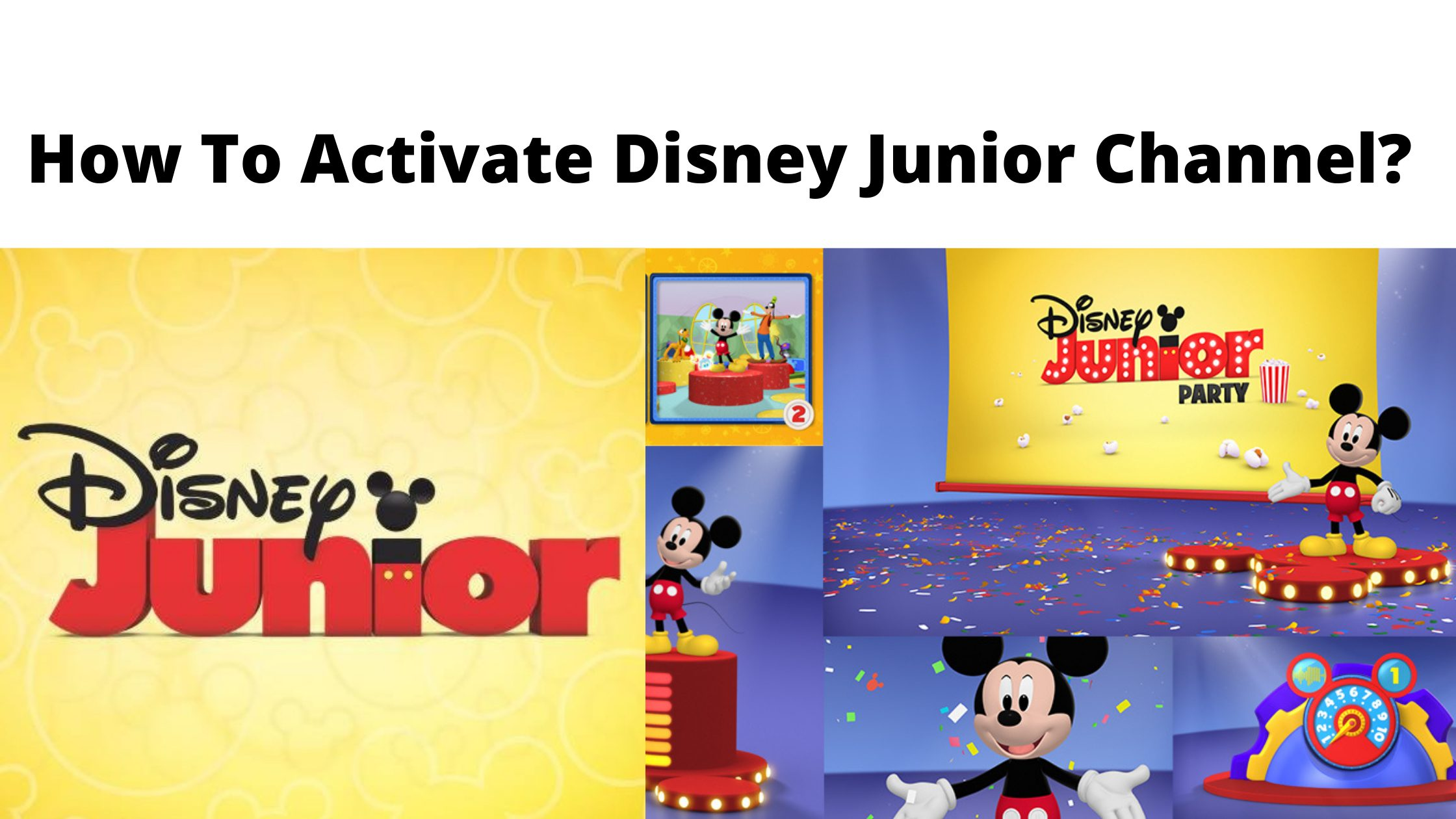 How To Activate Disney Junior Channel_