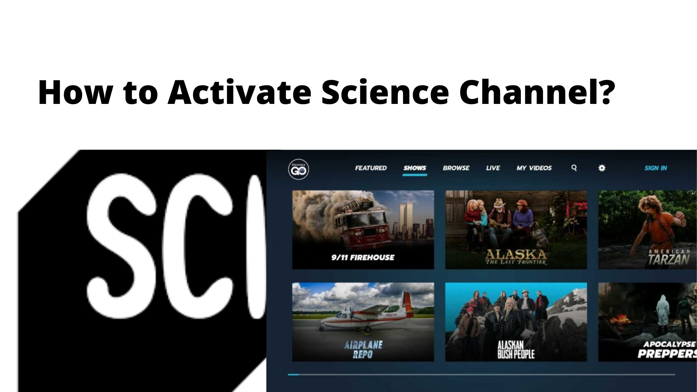 How to Activate Science Channel_